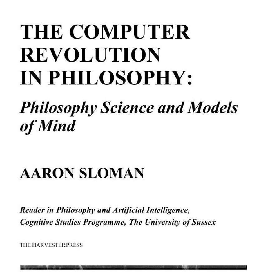 a sl the computer revolution in philosophy  1978 first page